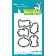 Lawn Fawn Cuts Custom Craft Die - Say What? Christmas Critters