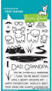"Clear Stamps 4""X6"" - Lawn Fawn - Dad & Me"