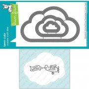 Dies Lawn Fawn Cuts - Outside/In Stitched Cloud Stackables