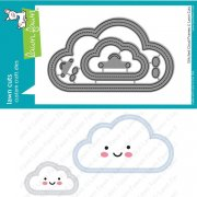 Dies Lawn Fawn Cuts - Stitched Cloud Frames