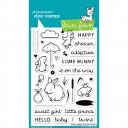 "Clear Stamps 4""X6"" - Lawn Fawn - Hello Baby"