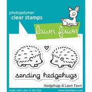 "Clear Stamps 3""X2"" - Lawn Fawn - Hedgehugs"