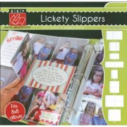 "Plastfickor Refill 8""X8"" - Lickety Slippers 10-pack Bazzill Basic"
