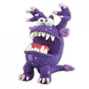 DIY Funny Friends Modeller - Foam Clay Lera - Lila Monster