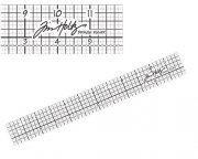 "Idea-Ology Ruler 12"" Linjal - Tim Holtz"