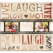 "Album 12""x12"" MBI - Live Laugh Love Film Strip - Post Bound"