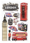 3D Stickers - London