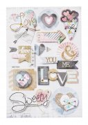 3D Stickers - Trendy Love