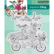 Cling Stamp Penny Black - Love Life