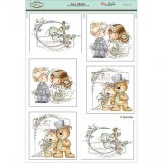 Wee Stamps Topper Sheet A4 - Love Me Do Wedding