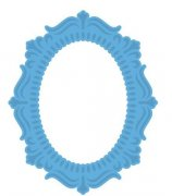 Dies - Craftables Oval Frame - Marianne Design
