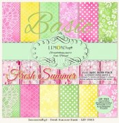Paper Pad 12x12 - LemonCraft - Fresh Summer