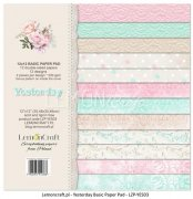 Paper Collection Kit 12x12 - LemonCraft - Yesterday