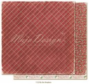 Papper Maja Design - Traditional Christmas - By the fireplace