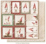 Papper Maja Design - Traditional Christmas - Die Cuts