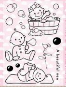 Clearstamps Marianne Design - Cute Babies