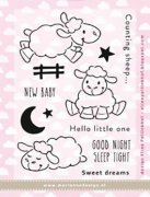 Clearstamps Marianne Design - Cute Animals