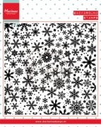 Marianne Design Clear stamps - Background Snowflakes