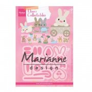 Marianne Design Collectables Dies - Eline's baby bunny