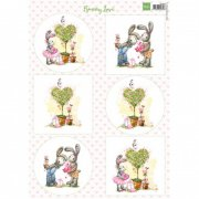 Marianne Design Topper Sheet A4 - Bunny Love