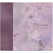 "Album 12""x12"" MBI - Memories Purple - Post Bound"
