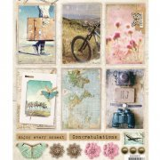 Studio Light Topper Sheet A4 - Memories of summer #617