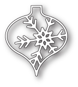 Memory Box Die - Piccolo Snowflake Ornament - 5,1 cm