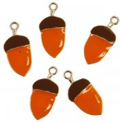 Metall Charms Prima Marketing - Pumpkin and Spice - 5 st