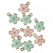 Metall Charms Prima Marketing - Sugar Cookie - Flowers