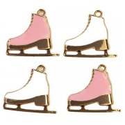 Metall Charms Prima Marketing - Sugar Cookie - Skates