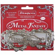 Metalldekorationer Stamperia - Fantasy Embellishments Plaquette