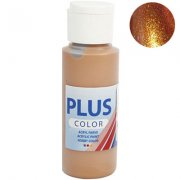Akrylfärg PLUS Color 60 ml - Metallic Bronze