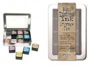 Mini Distress Ink Storage Tin - Ranger / Tim Holtz