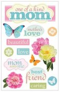 3D Stickers Glitter - Mom - Paper House