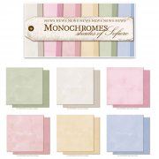 Cardstock Monochromes - Shades of Sofiero - 6 st