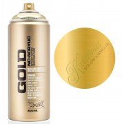 Montana GOLD Sprayfärg - Goldchrome - 400 ml - Guld
