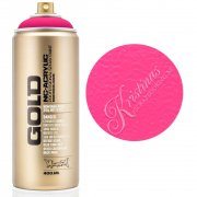 Montana Flourescent 400 ml - Gleaming Pink - Neon Rosa