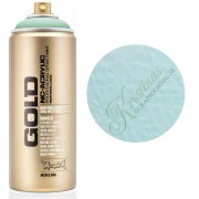 Montana GOLD Sprayfärg - Malachite Light - 400 ml - Ljus Turkos