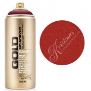 Montana GOLD Sprayfärg - Royal Red - 400 ml - Röd