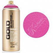 Montana GOLD Sprayfärg - Shock Pink - 400 ml - Rosa