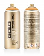 Montana GOLD Sprayfärg - Black Orange - 400 ml - Orange