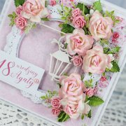 Mulberry Rose Scrapbooking Blommor