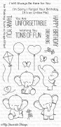Clear Stamps - My Favorite Things - Adorable Elephants