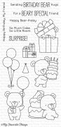 Clear Stamps - My Favorite Things - Beary Special Birthday