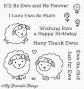 Clear Stamps - My Favorite Things - Ewe and Me Forever