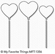 My Favorite Things Dies - Heart Balloons