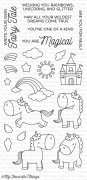 Clear Stamps - My Favorite Things - Magical Unicorns