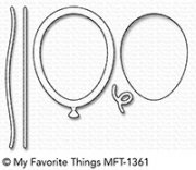 My Favorite Things Dies - Mini Balloon Shaker Window & Frame