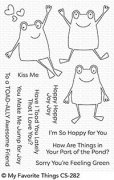 Clear Stamps - My Favorite Things - Toad-ally Awesome