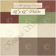 Palette Pion Design 12x12 - Cardstock Paket - The Night before Christmas